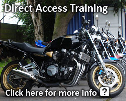 1st motorcylce trainiing - DAT Direct Access Training